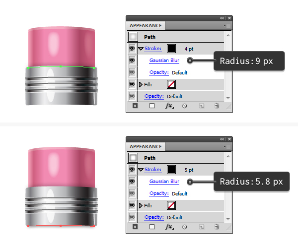 add shadows for rubber