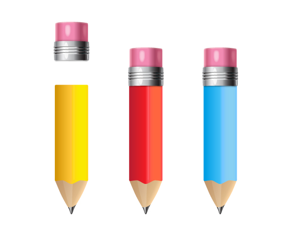 add rubber to pencil