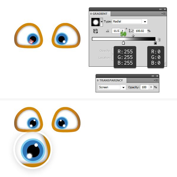 create the eyes 4