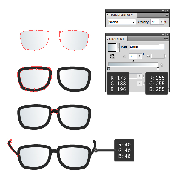 create glasses 1