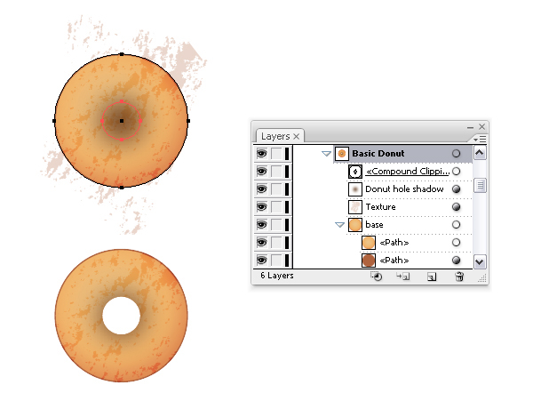 create basic donut 2