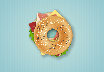 Diana bagel sandwich icon tut preview