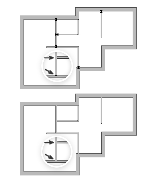 draw architectural house plan 4