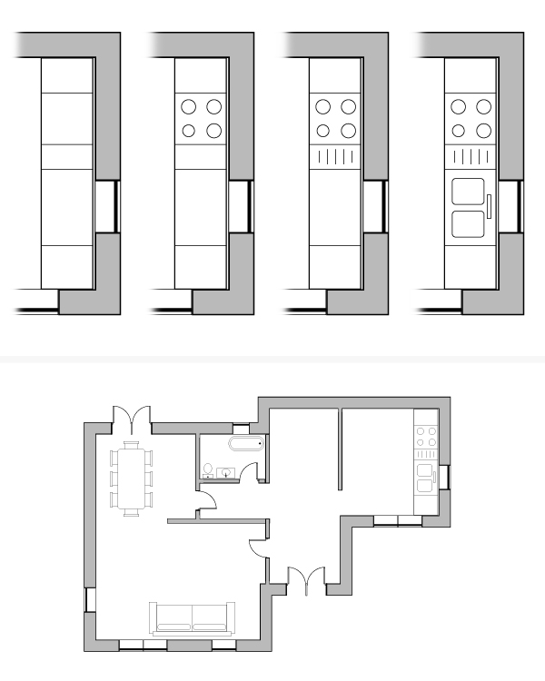 draw architectural house plan 11
