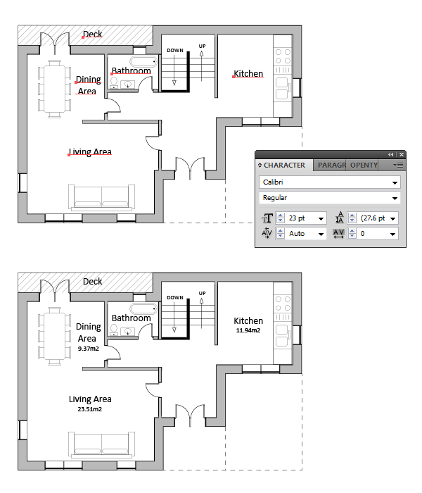 draw architectural house plan 15