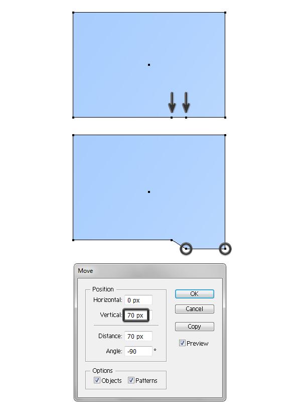 create blue folder 2