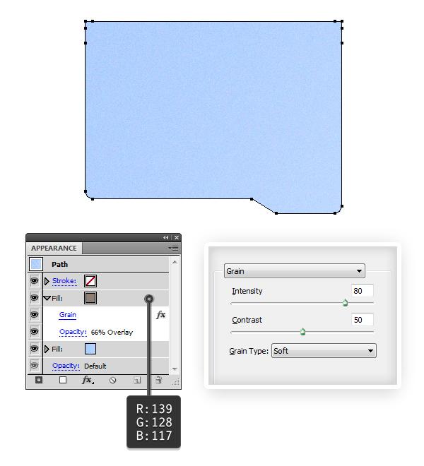 create blue folder 4