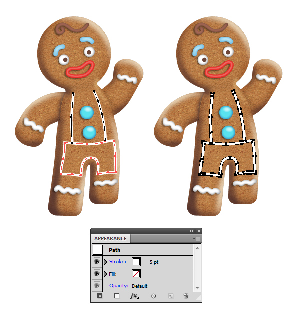 create icing on gingerbread man 3