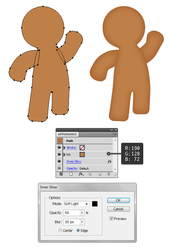 create gingerbread texture 1