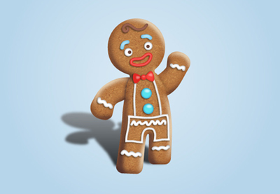 Diana gingerbread man tut preview
