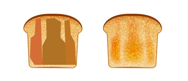 create toasted bread 2