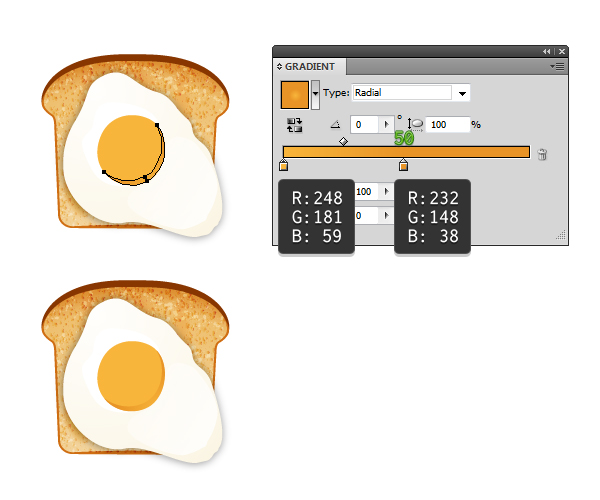 create fried egg on toast 4