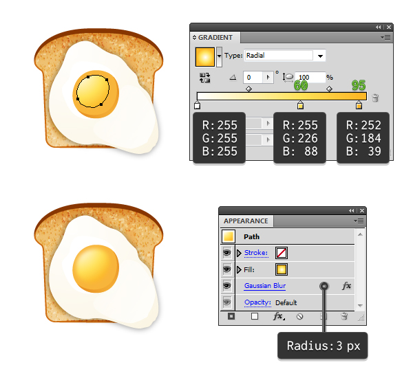 create fried egg on toast 5