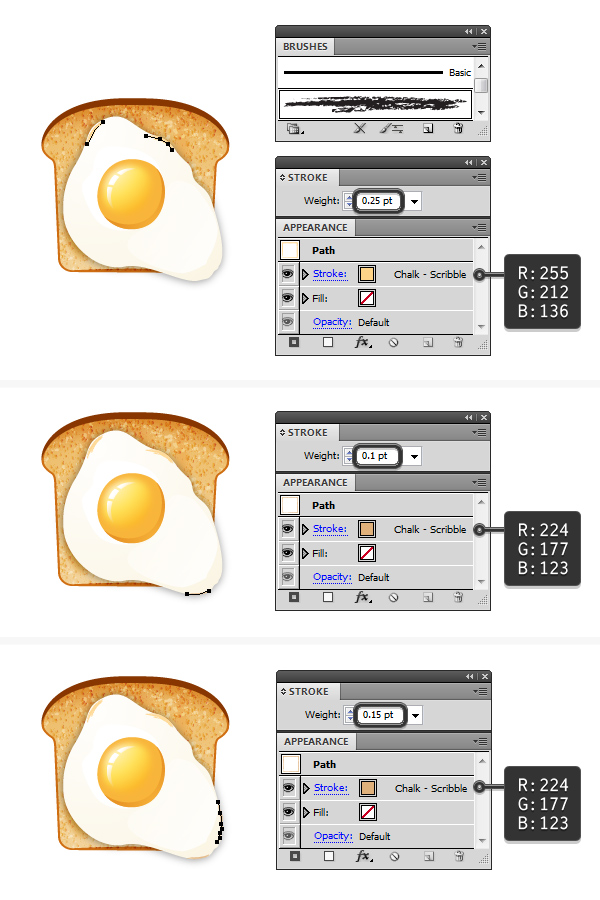 create fried egg on toast 7