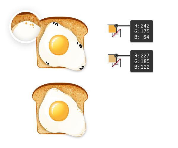create fried egg on toast 8