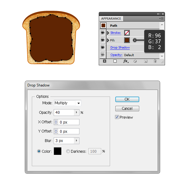 create chocolate spread on toast 1