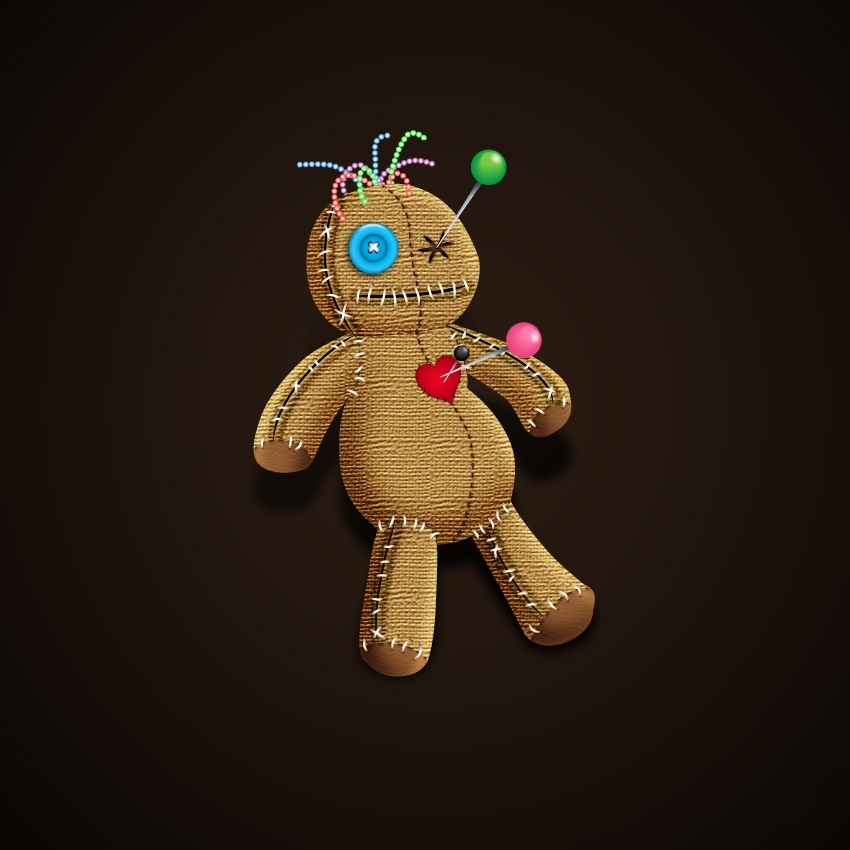 voodoo doll final image