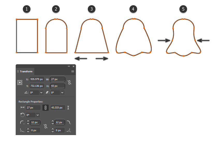 how to create the Snapchat vector logo