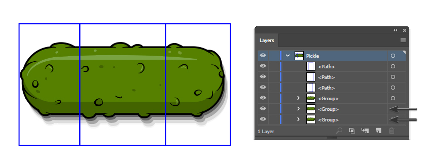how to rotate the pickle pattern brush
