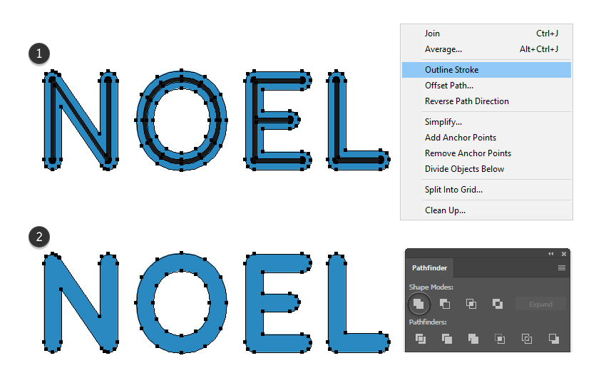 how to bold the text in Illustrator