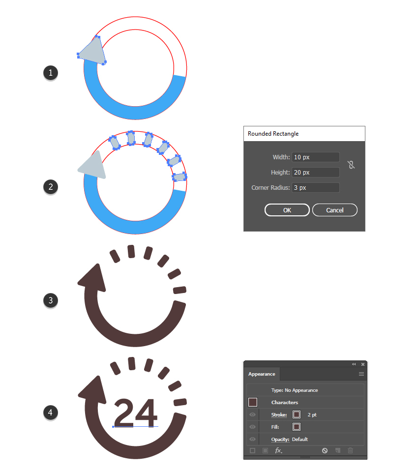 How to finalize the 24 hours delivery icon