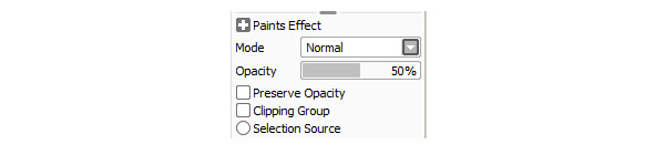 Preserve opacity