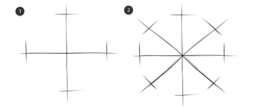 Create initial shape