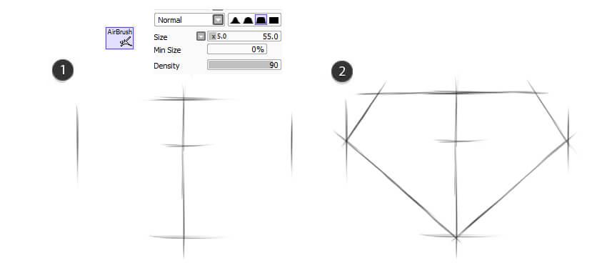 Create initial sketch