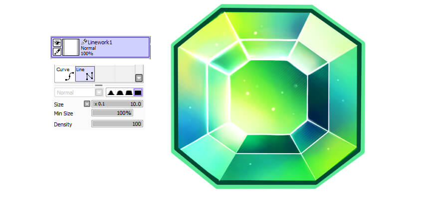Add borders using vector tools