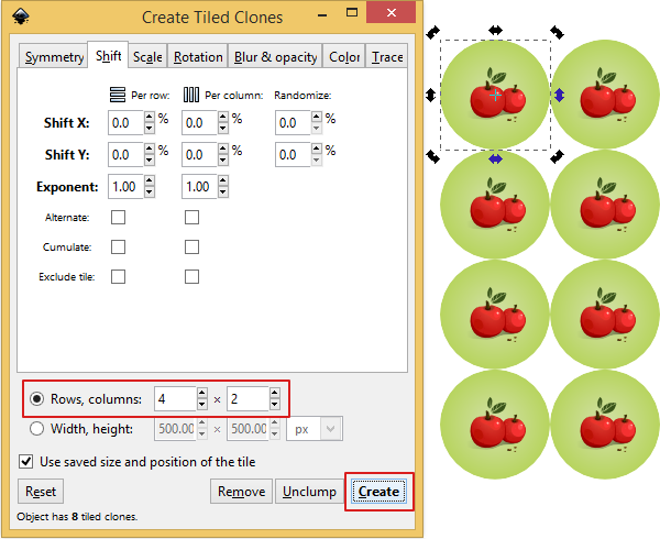 Repeating Patterns Made Easy in Inkscape