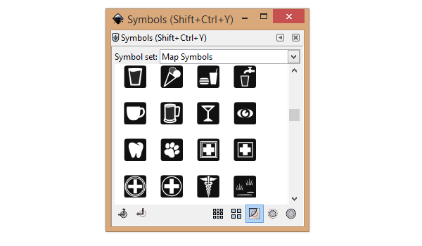 symbols menu inkscape