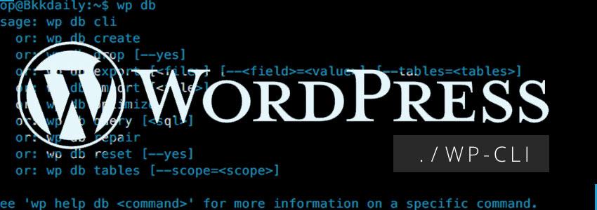 Command-Line WordPress