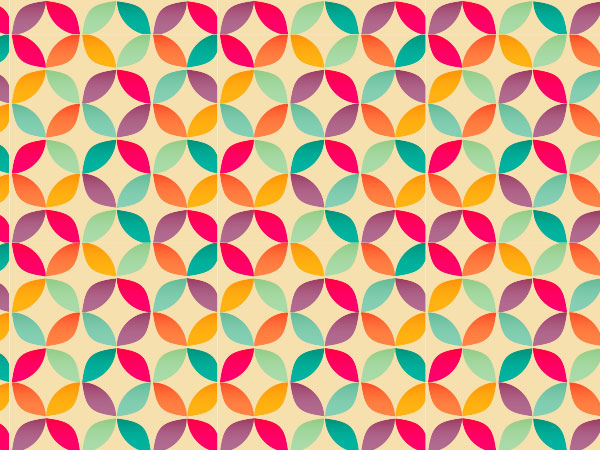 How To Create A Bright Geometric Circle Pattern In Adobe