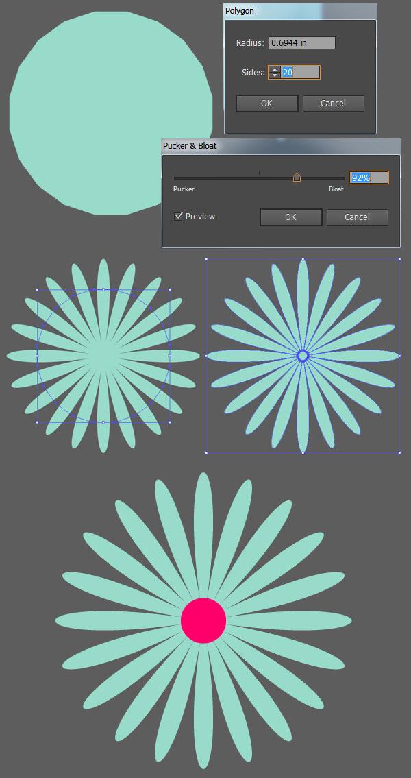 Create an Easy Field of Flowers Pattern Design in Adobe Illustrator