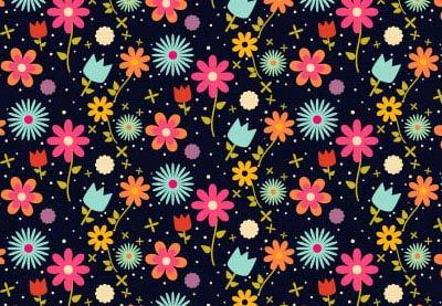 Preview for Create an Easy Field of Flowers Pattern Design in Adobe Illustrator