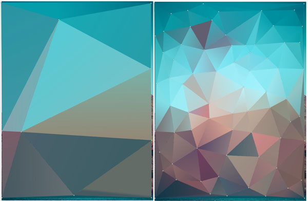How to Create an Abstract Low-Poly Pattern in Adobe