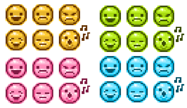 10 Steps To A Quick Set Of Emoticons In Adobe Photoshop