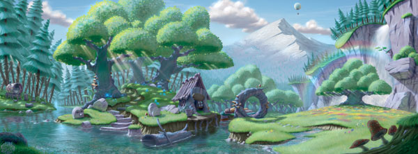 shane smith environment illustration