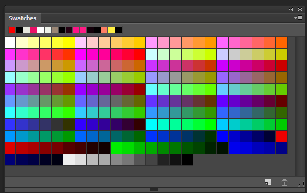256 color palette