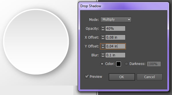 Drop shadows let objects pop