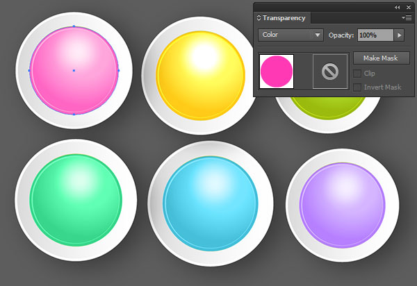using blend modes to quickly recolor artwork