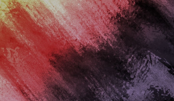Completed grunge brushes used to create texture