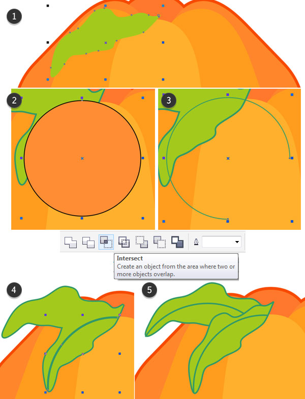 Using the Arc Feature of the Ellipse Tool