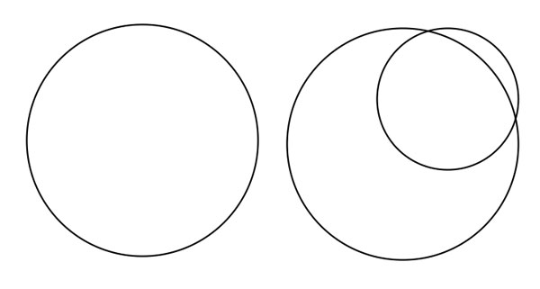 Draw circles with the Ellipse Tool