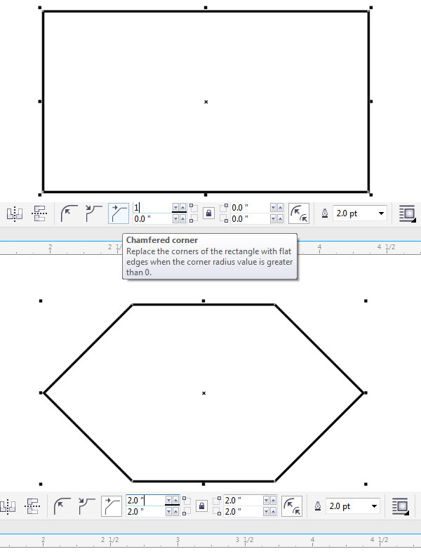 Create a simple hexagon
