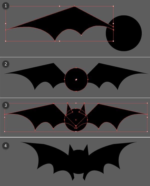 Quickly drawing a bat