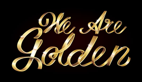 Stay Golden With This Shiny Metallic Text Art Effect in Adobe