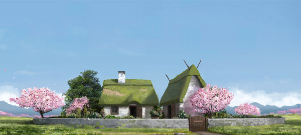 Small cottage concept work