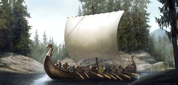 Viking ship concept