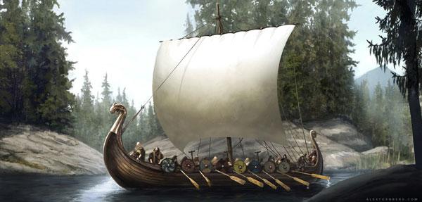 Viking ship concept